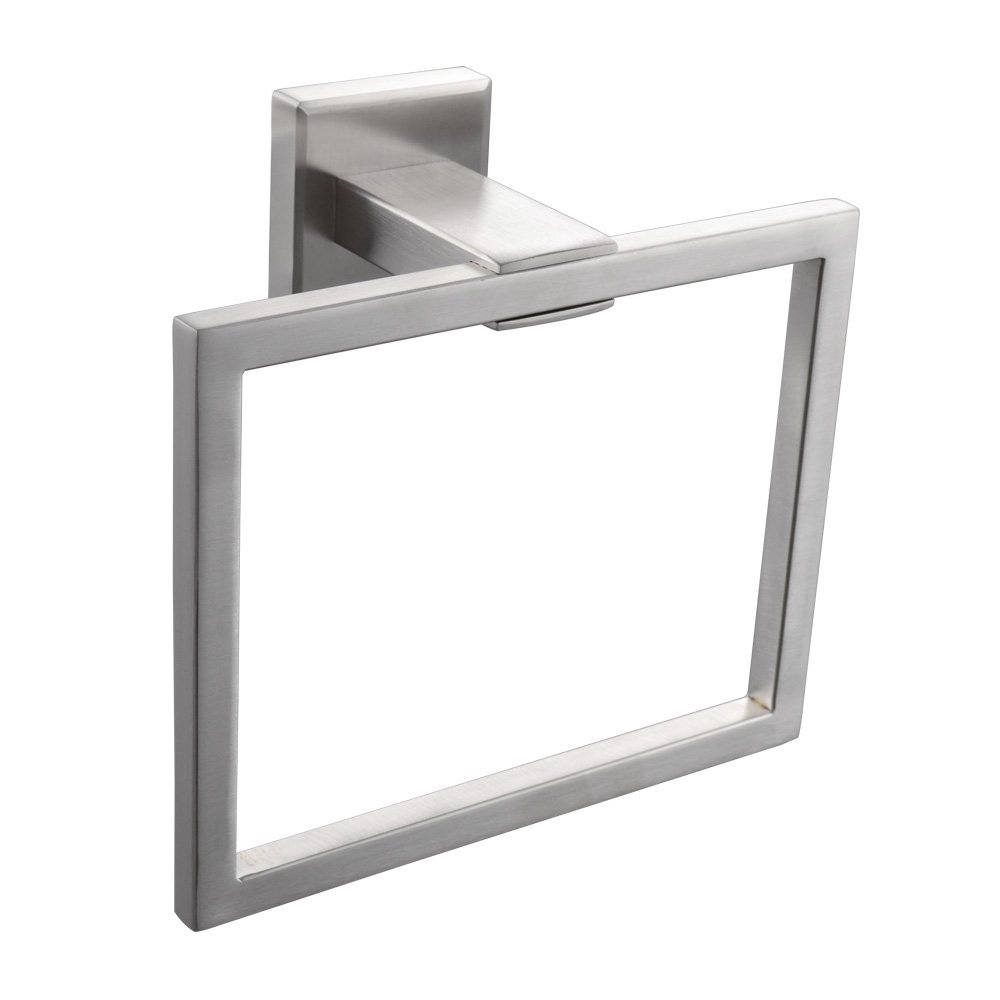hand towel hanger. Interesting Hanger SUS 304 Stainless Steel Bath Towel Holder Hand Ring Hanging  Hanger Hotel Square Style Wall Mount Brushed Finishin Rings From Home  To W