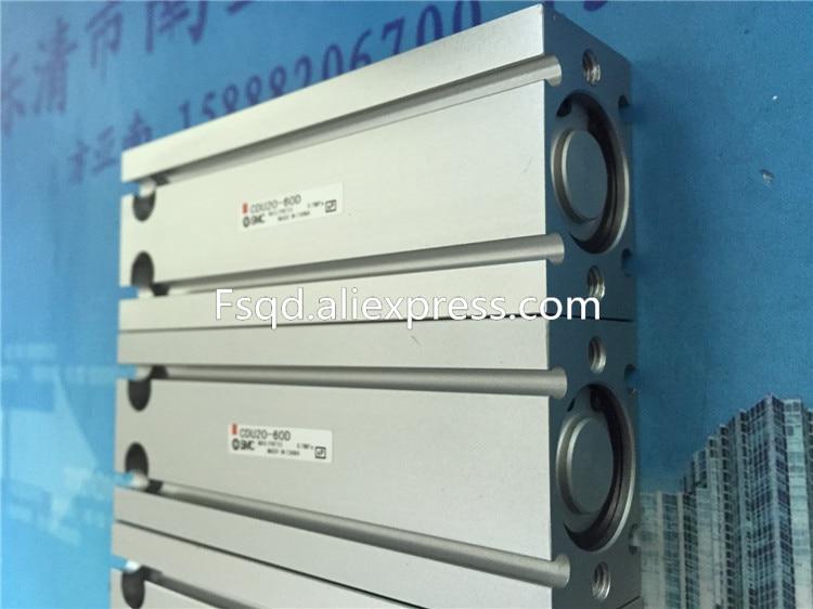 CDU20-60D CDU20-80D CDU20-100D SMC Free mount cylinder Double Acting, Single Rod CDU series