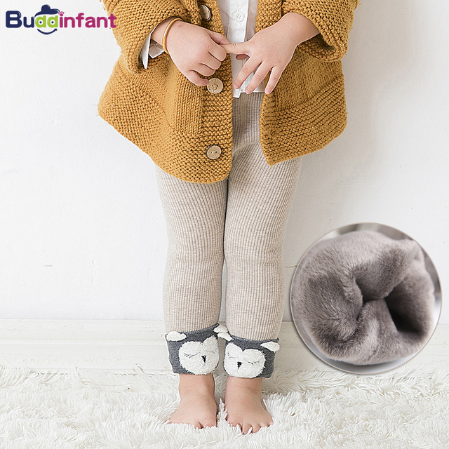 4dba65856f8c42 baby winter leggings with fleece velvet leggins baby girl warm pants for  infant girl knit legins