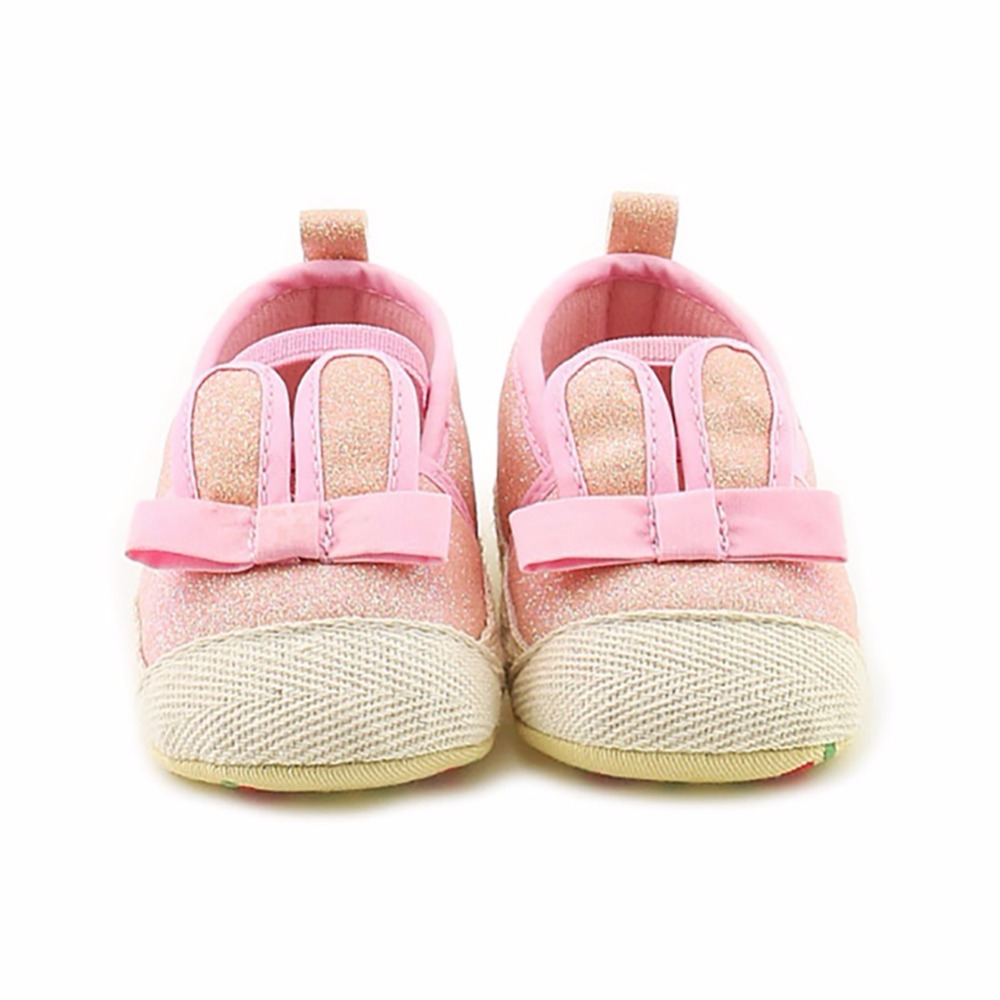 All Season New Baby Girl Shoes Cute Rabbit Ears Temperament Non – slip Rubber Baby School Shoes0-12M