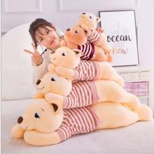 Wyzhy Творческий подушка с енотом плюшевая игрушка для дивана Спальня украшение в виде отправьте друзьям и подарки для детей 110 см