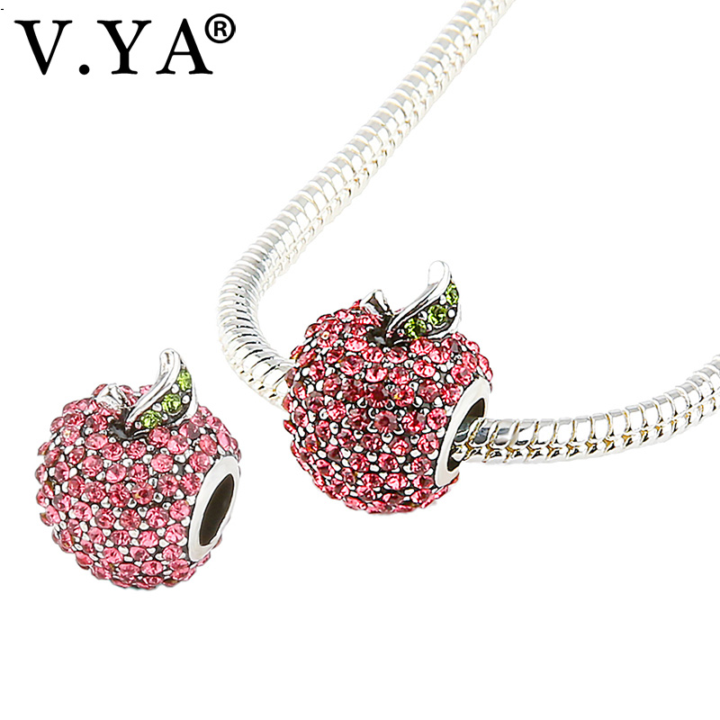 Pretty Apple Charms Beads fit...