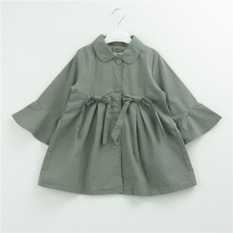 Y1804230 2018 Autumn Baby Jacket For Girl Coat For Girls Jacket Full Sleeve Girl Outerwear Kids Clothes Children Windbreaker