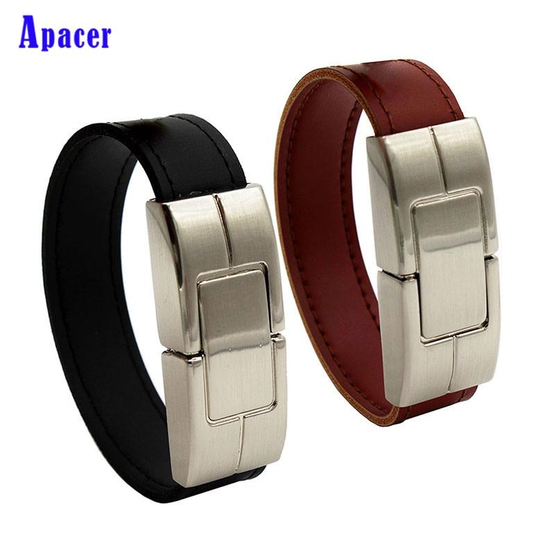 Apacer 100% Real Capacity fashion Leather 4GB 8GB 16GB 32GB USB flash drive 64GB USB memory car U disk