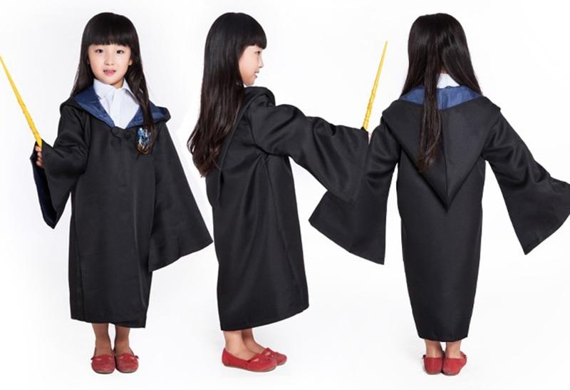 Harri Potter Robe Cape Cloak Gryffindor Slytherinravenclaw