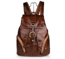 Maxdo Vintage Genuine Leather Lady Women Backpacks Cowhide Teenagers Girl Backpack Travel Bags #M7286