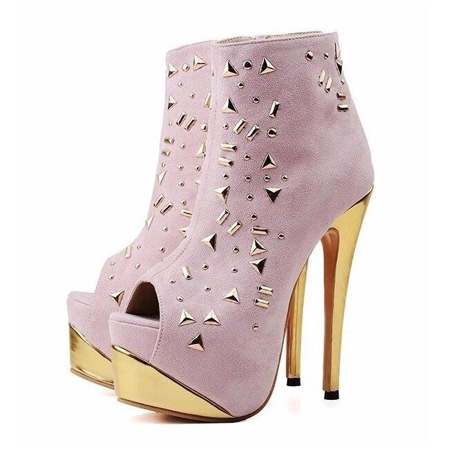2018 nouveautés troupeau en cuir bottines femme confortable talons hauts bottes pour dames printemps automne femmes chaussures TL-A0151