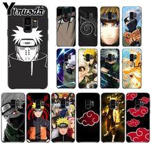 Yinuoda Hokage Naruto Kakashi amine cartoon Soft Phone cover Case For Samsung Galaxy s9 s8 plus note 8 note9 s7 S10lite Cover