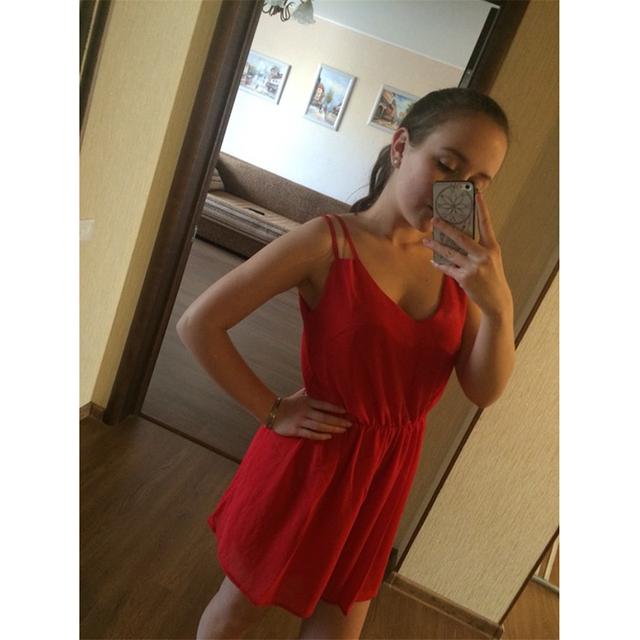 Summer Style Chiffon Party Dress