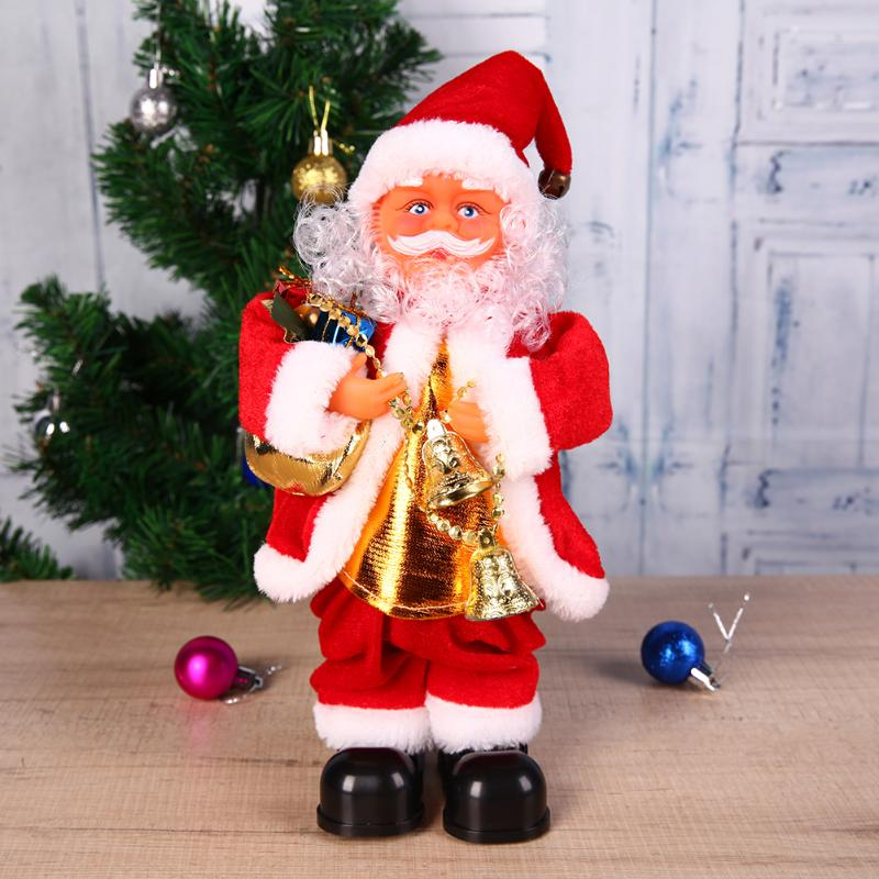 Singing Christmas Decorations: Aliexpress.com : Buy 27cm Large Santa Claus Doll Electric