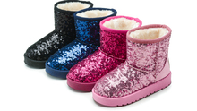 2017 kid winter snow shoes snow boot new year low price good quality girl boy
