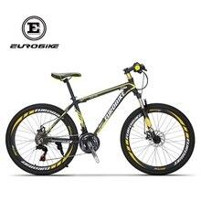 EUROBIKE Shimano 21 Speed Aluminum Mountain bike Dual Disc Brake Mountain bicycle