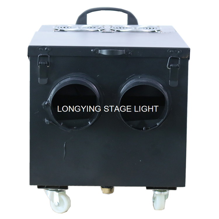 Image 4 - Free Shipping New Design Double Hose Outlet Water Smoke Machine DMX Remote Control Stage Effect 2000W Water Low Fog Machine-in Stage Lighting Effect from Lights & Lighting
