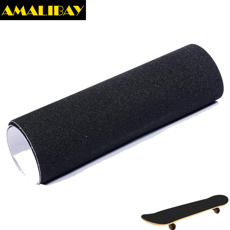 Skateboard Sandpaper Skate Grip Longboard Tape Non-slip Waterproof Anti-tear Paster For Peny Board Cruiser Long Board 23cm*84cm