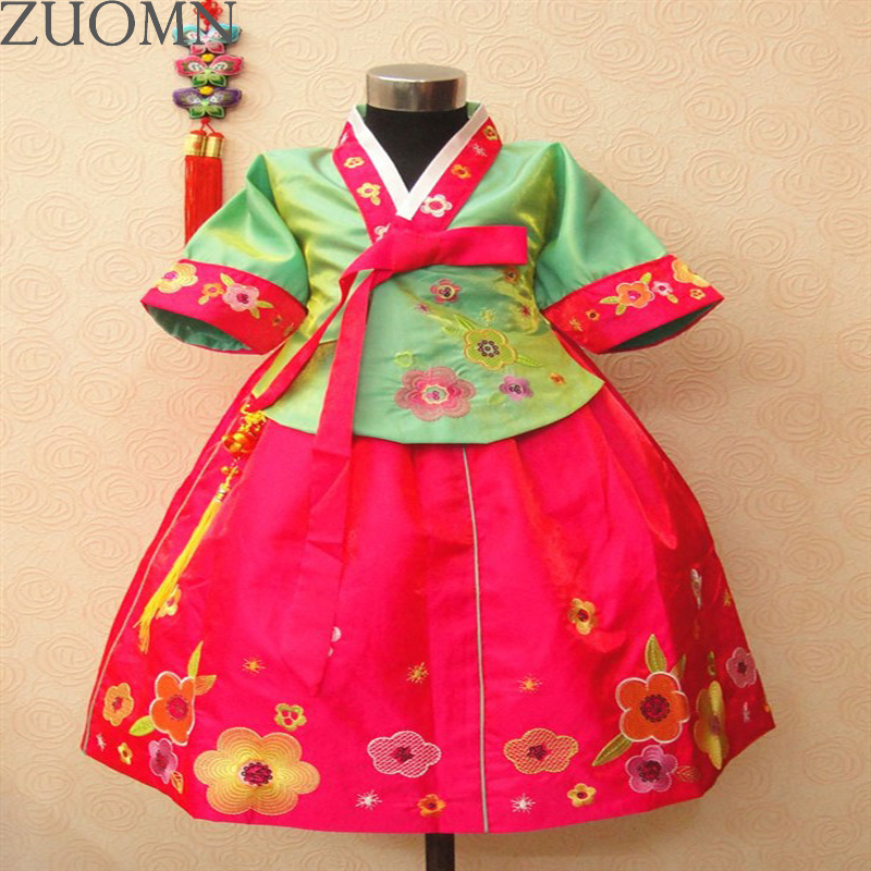 Children Hanbok Dress girls nalnational costume Hanfu dress princess children hanfu dresses Dance Costume Ethnic Clothing YL392 double color high pressure ink diaphragm pump aluminum alloy two way pneumatic diaphragm pumps