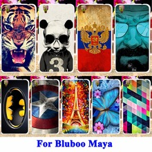 Captain America-Batman-Bluboo-Maya Housing Covers Panda Tiger Soft TPU Cell Phone Cases