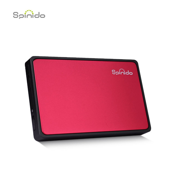 Spinido hd enclosure usb flash drive to USB 3.0/2.0  HDD Case SATA Tool Free 2.5 Inch for Notebook Desktop PC hard disk Box