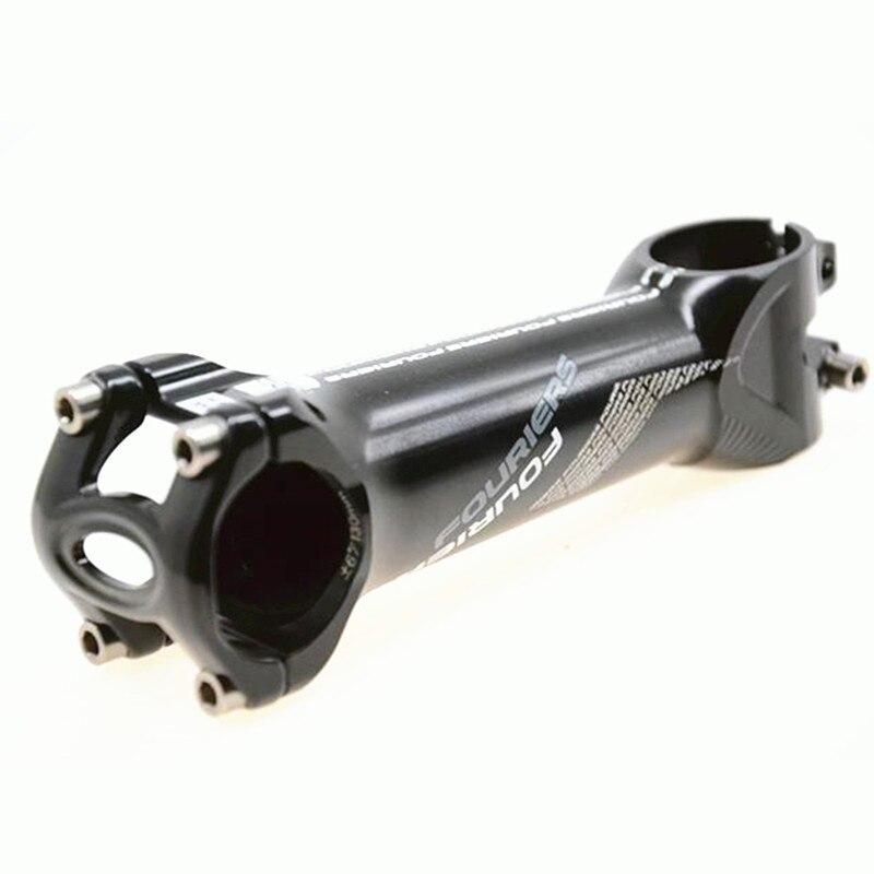 цена на FOURIERS SM-RA002 CNC aluminum alloy 31.8mm bicycle bike stem 6 degrees length 80/90/100/110/120/130/140MM/Bicycle Parts