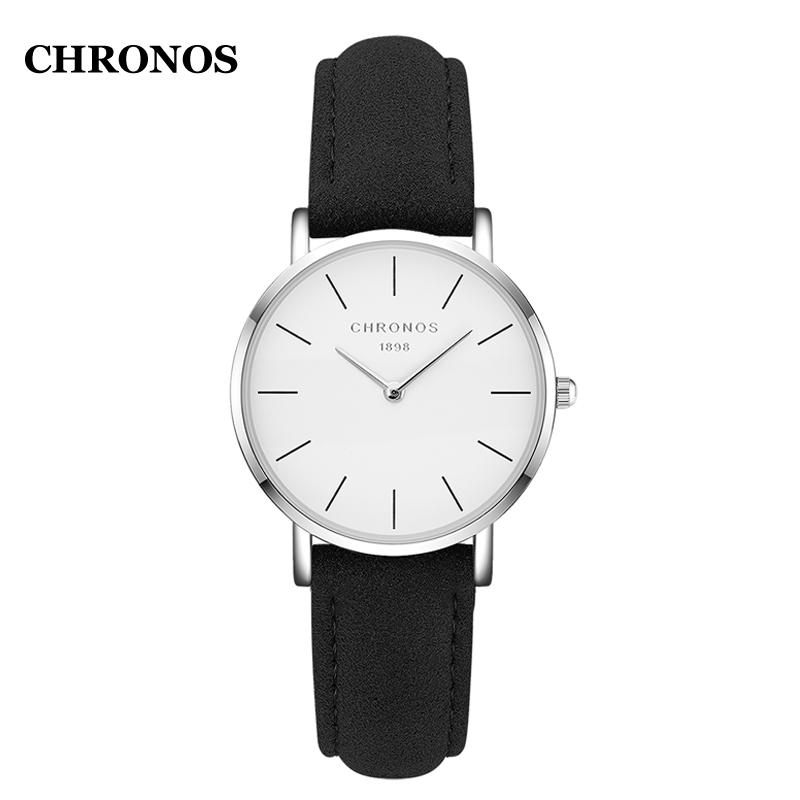 Chronos Watches Women Fashion 2019 Luxury Casual Quartz Wristwatch Leather Strap Ladies Watches Reloj Mujer Montre Femme