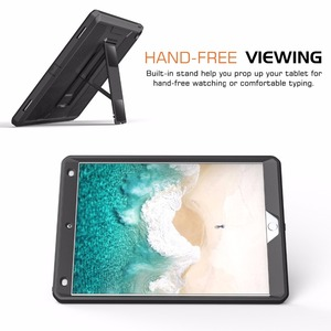 """Image 4 - MoKo Case For New iPad Air (3rd Generation) 10.5"""" 2019/iPad Pro 10.5 2017  [Heavy Duty] Shockproof Full Body Rugged Hybrid Cover"""