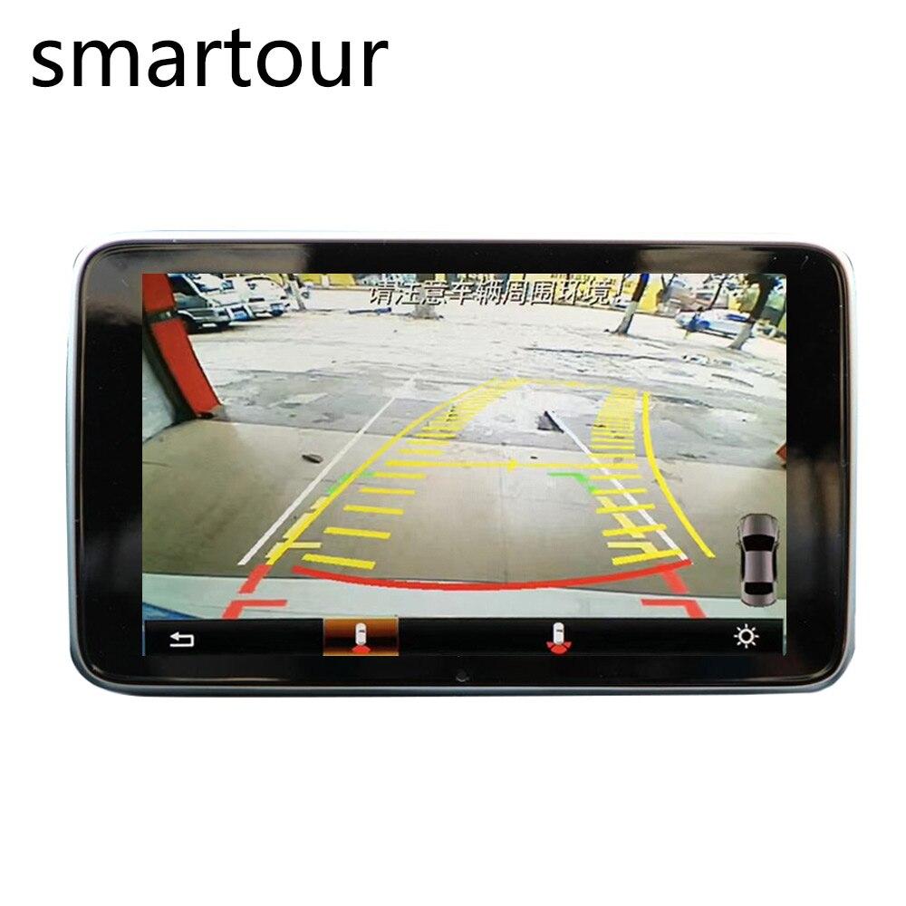 Smartour pour Mercedes GLK X204 décembre 2013 prise et interface de caméra de voiture