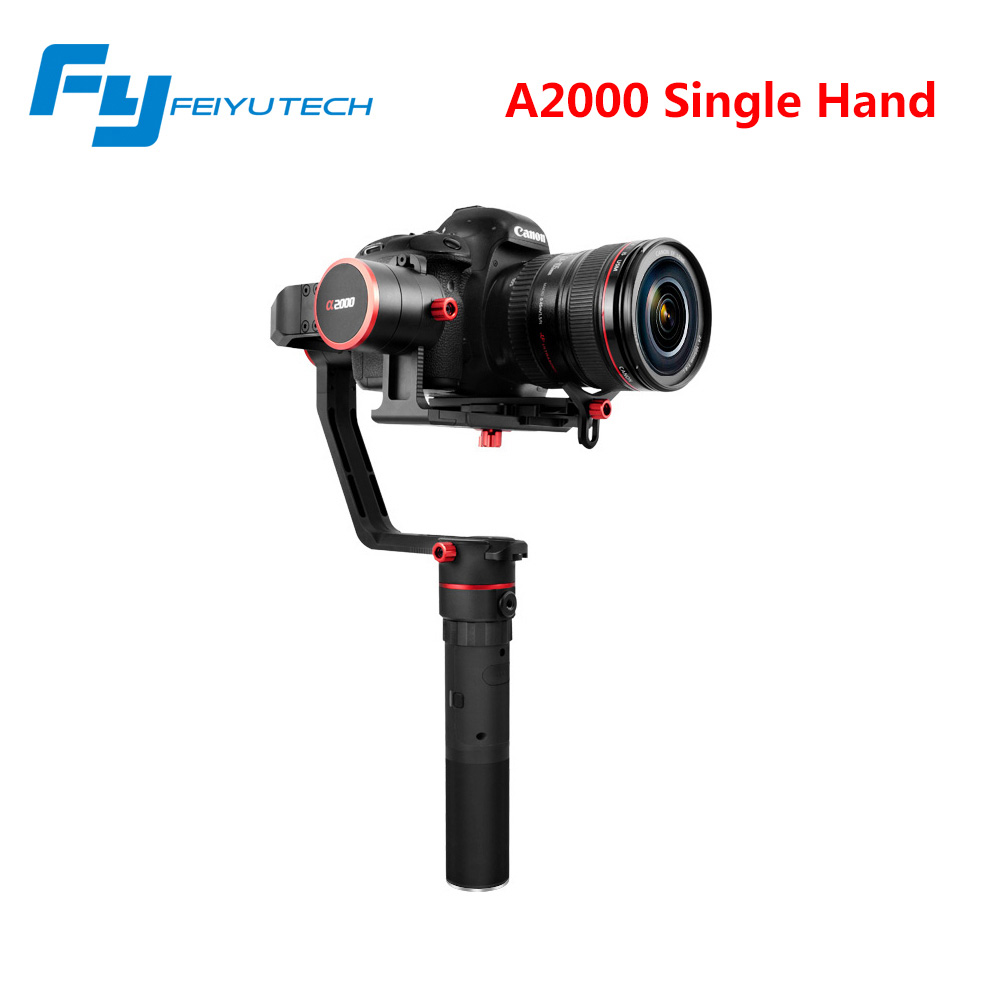 FY A1000/A2000 3-Axis Gimbal DSLR Camera Stabilizer Dual handheld grip for a6500 a6300 iPhone Canon 5D/SONY Panasonic 2000g 12mp 980 mah handheld steadygrip 4k camera 3 axis gimbal x3 for osmo kit