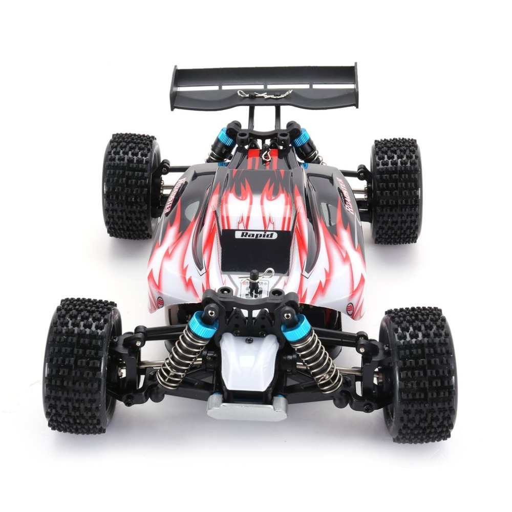 WLtoys A959 2.4GHz 1/18EU plug Full Proportional Remote Control 4WD Vehicle 45KM/h High Speed Electric RTR Off-road Buggy RC Car hongnor ofna x3e rtr 1 8 scale rc dune buggy cars electric off road w tenshock motor free shipping