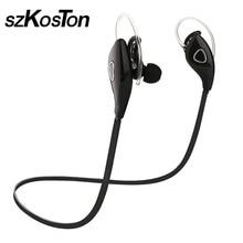 Беспроводная Связь Bluetooth Наушники Высокого Качества наушники-Вкладыши Bluetooth 4.1 Спорт Bluetooth Гарнитура С Микрофоном С Шумоподавлением для Мобильного Телефона