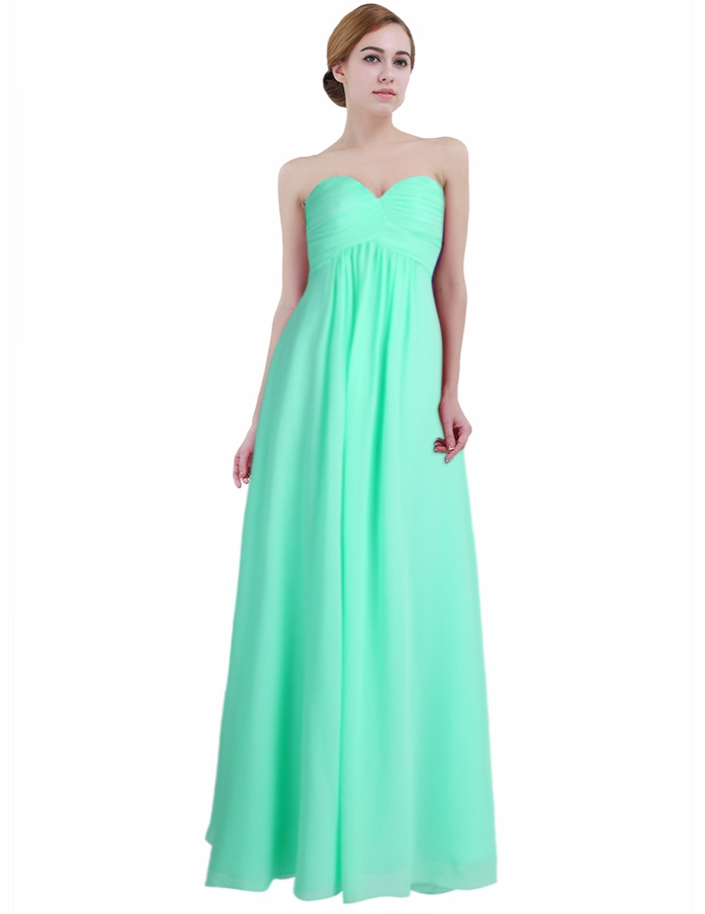 47f429b0dd550 2019 Women Dress Vestido De Festa Longo Sukienka Elegant Sexy Formal  Wedding Party Dress Strapless Chiffon Bridesmaid Maxi Dress