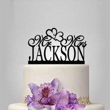 Настоящий акриловый классический свадебный торт Топпер/Свадебный стенд/Свадебные украшения/Пользовательский Топпер