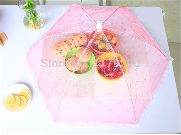 Food-Covers-Umbrella-Style-Anti-Fly-Mosquito-Kitchen-cooking-Tools-meal-cover-Hexagon-gauze-table-mesh (1)