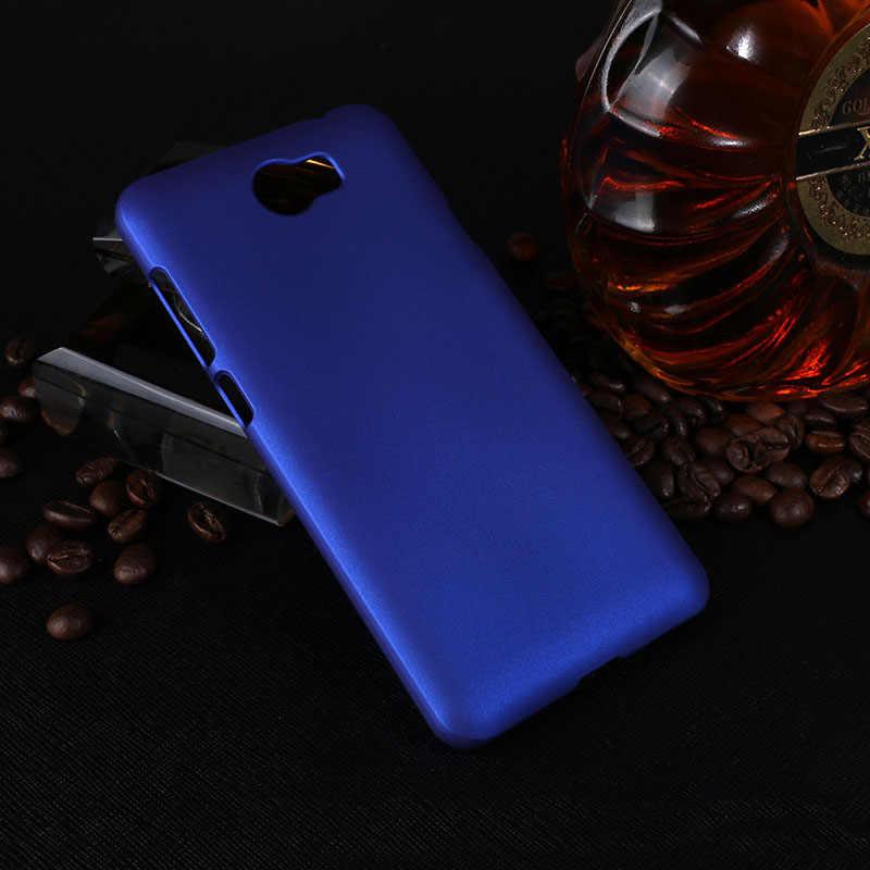 Pour Huawei CUN U29 L21 L01 Cas 5.0 Dur En Plastique Givré Couverture Arrière pour Huawei Honor 5A LYO-L21 Cas Mat Cas CUN-U29 CUN-L21