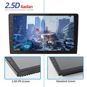 Image 3 - / אנדרואיד 9.0 2 דין רכב רדיו אנדרואיד רכב רדיו DSP 2.5D IPS מסך GPS ניווט WIFI Bluetooth MP5 נגן מול & אחורי מצלמת