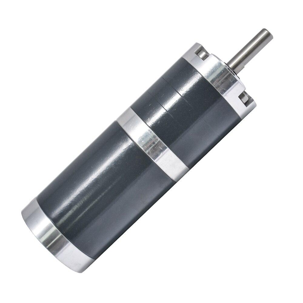 Dia 45mm 24 v 10 15 21 25 30 60 66 70 80 85 150 160 200 300 500 800 rpm DC Orientée Engrenage planétaire Moteur Sortie Arbre 8mm TGX45