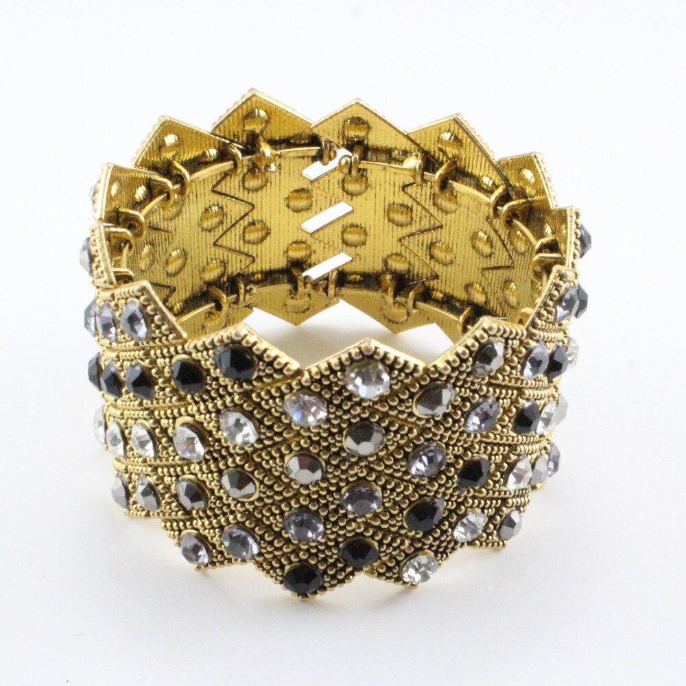 Mode 2016 new vintage antique belle or indien bijoux bracelet bracelet kada pour dames et filles