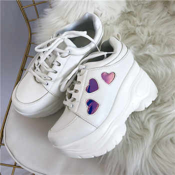 Japanese Lolita Sneakers Shoes Love Sweet Cute Student Princess Girl Thick bottom Shoes - DISCOUNT ITEM  0% OFF All Category