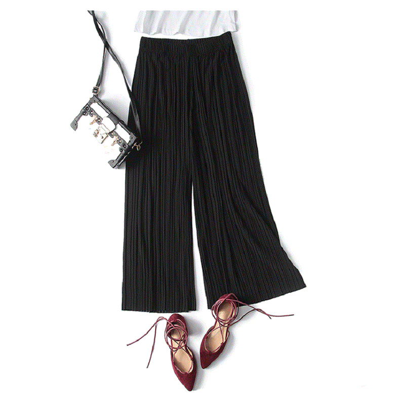 WHZHM 2019 Thin Summer   Pants   Women High Waist Loose   Wide     Leg     Pants   Casual Trousers Ladies Pink Thin Long Loose   Pants   Female