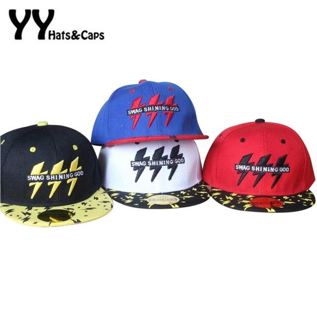 8f07dd646f501 Alta calidad SnapBack algodón gorra de béisbol niños flash Bordado muchacha  del muchacho del sombrero gorra