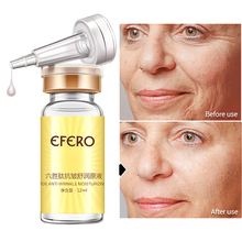 Six Peptide Face Care Lift Serum  Argireline Hyaluronic Collagen Serum Anti Wrinkle Face Cream Whitening efero недорого