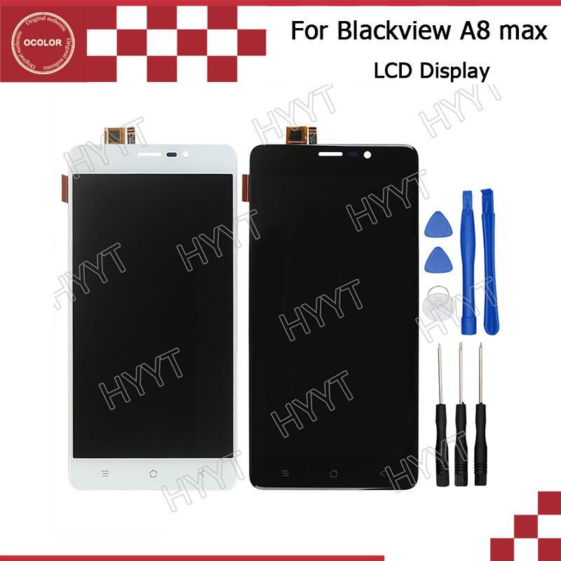 Prix pour Blackview A8 max LCD Affichage et Écran Tactile Assemblée Réparation Partie 5.5 pouce Mobile Accessoires Pour Blackview A8 max + Outils