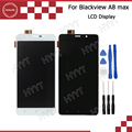 Blackview A8 max LCD Display and Touch Screen Assembly Repair Part 5.5 inch Mobile Accessories For Blackview A8 max +Tools