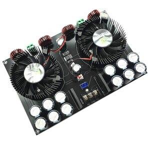 Image 4 - Lusya TDA8954TH Dual core Digitale audio Eindversterker Boord 420W * 2 streo Versterker met ventilator voor 2 8ohm speaker b5 002