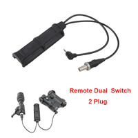 Tactical Durable Night Evolution Dual Remote Military Pressure Pad Switch for XM PEQ Flashlight Accessorie