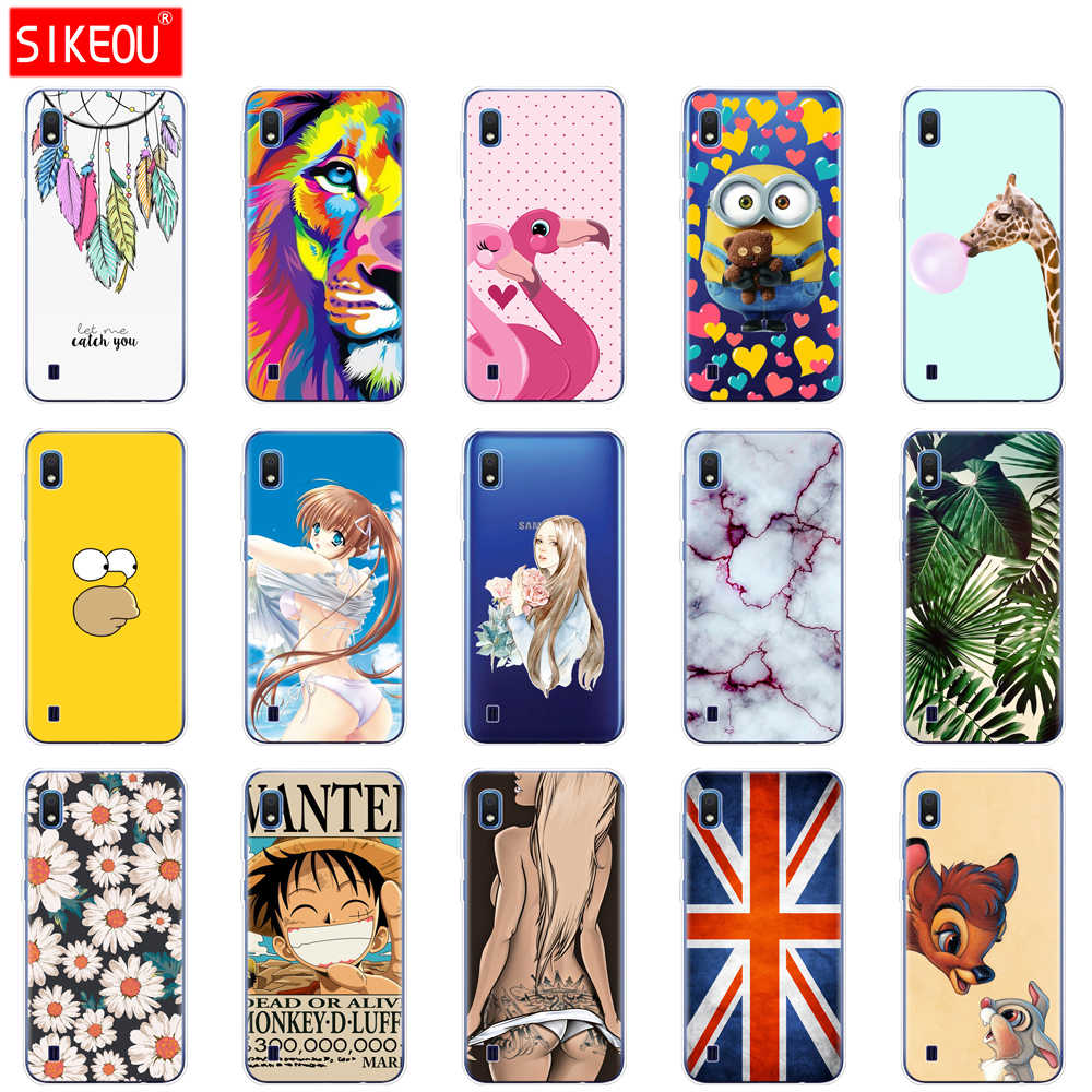 Case Voor Samsung A10 Case Soft Silicone Back Cover Phone Case Voor Samsung Galaxy A10 GalaxyA10 Een 10 SM-A105F A105 a105F Cartoon