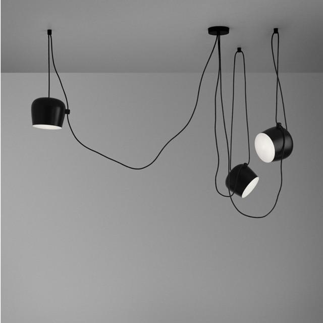 LukLoy Moderne Pendelleuchte Leuchtet, 26 cm Large Oval Mehrere ...