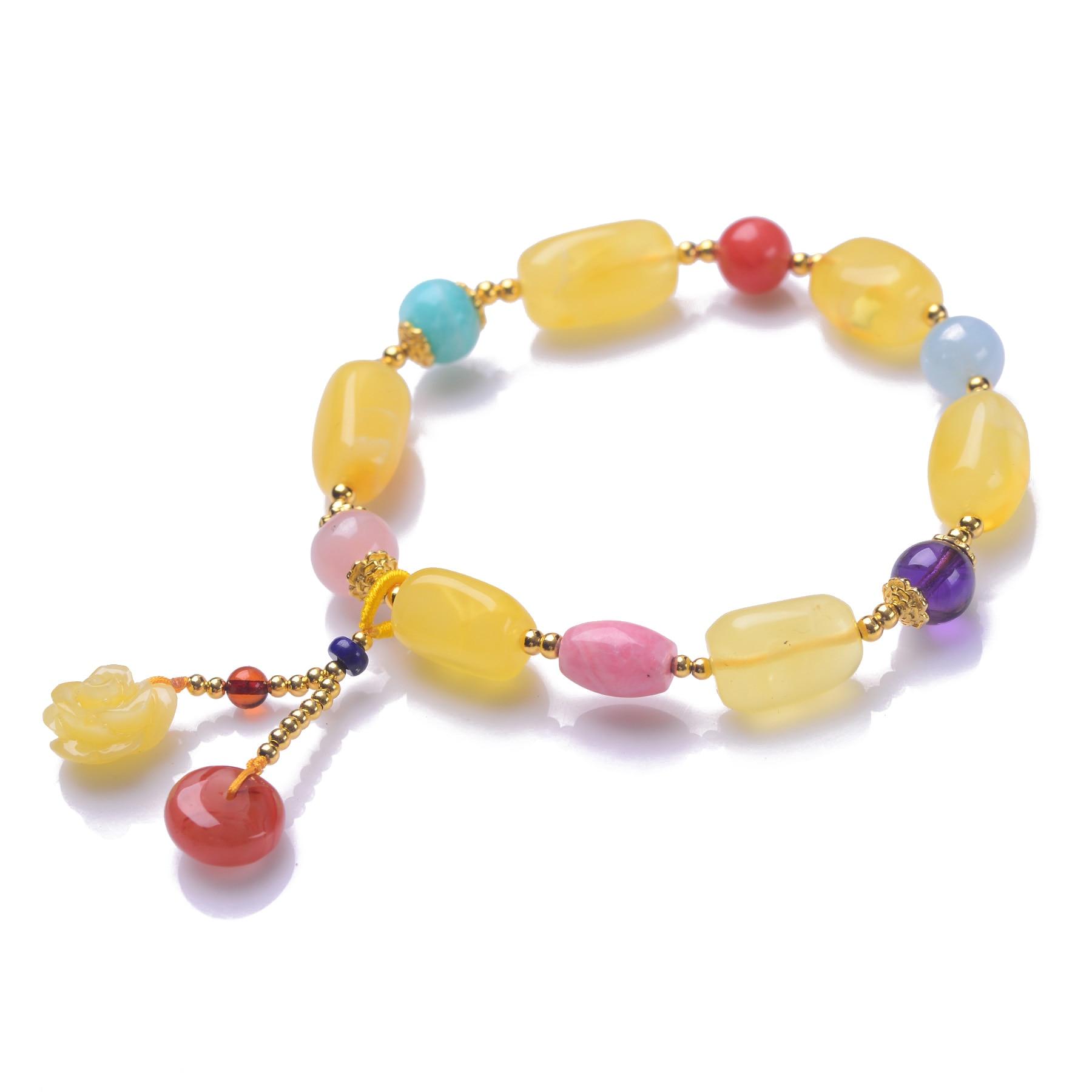 Здесь продается  Handmade Authentic Wax Crystal Beads Bracelets  Ювелирные изделия и часы