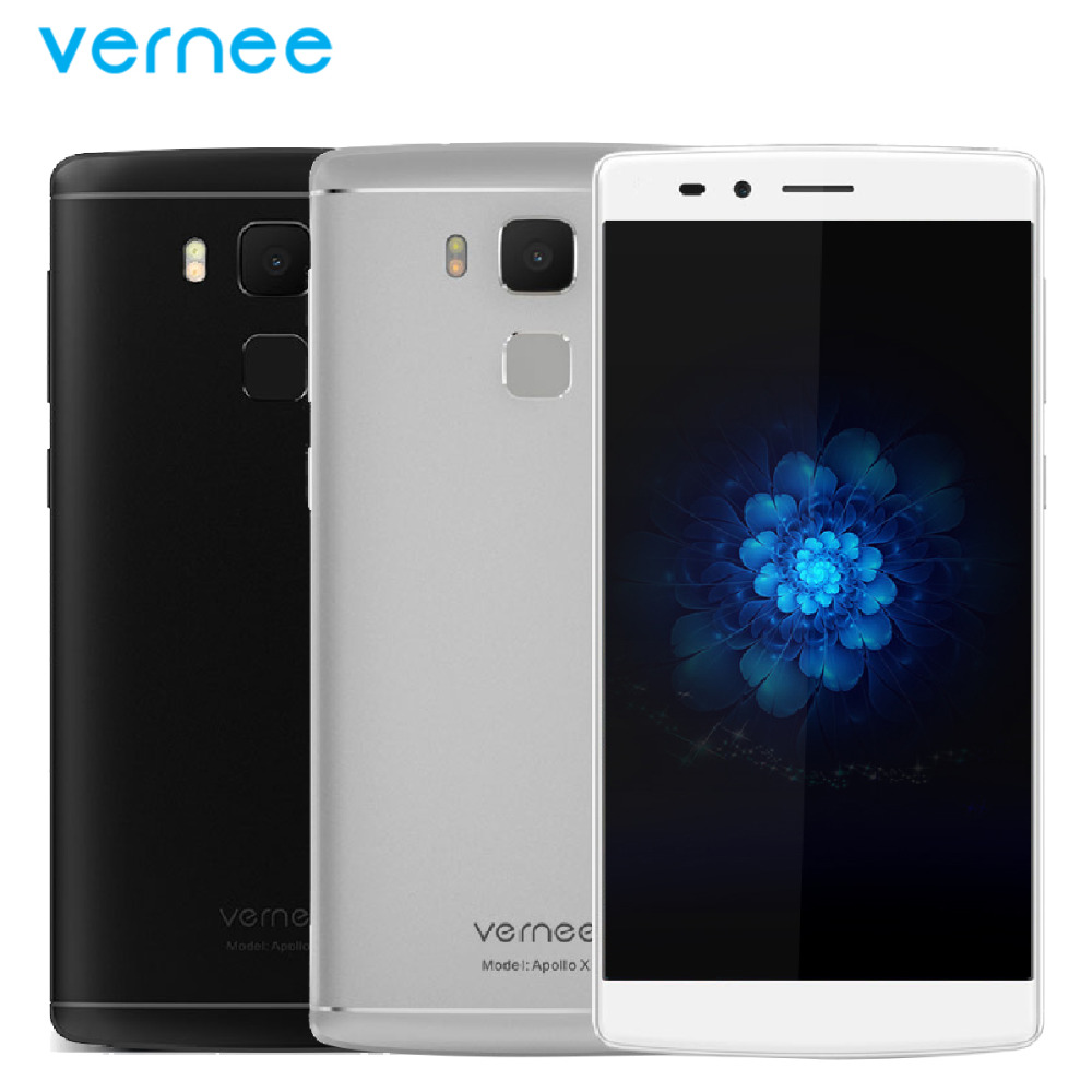 "Original Vernee Apollo X Mobile Phone 4G RAM 64G ROM MTK Helio X20 Deca-Core 5.5"" 16.0MP Camera 4G Lte Android 6.0 Smartphone"