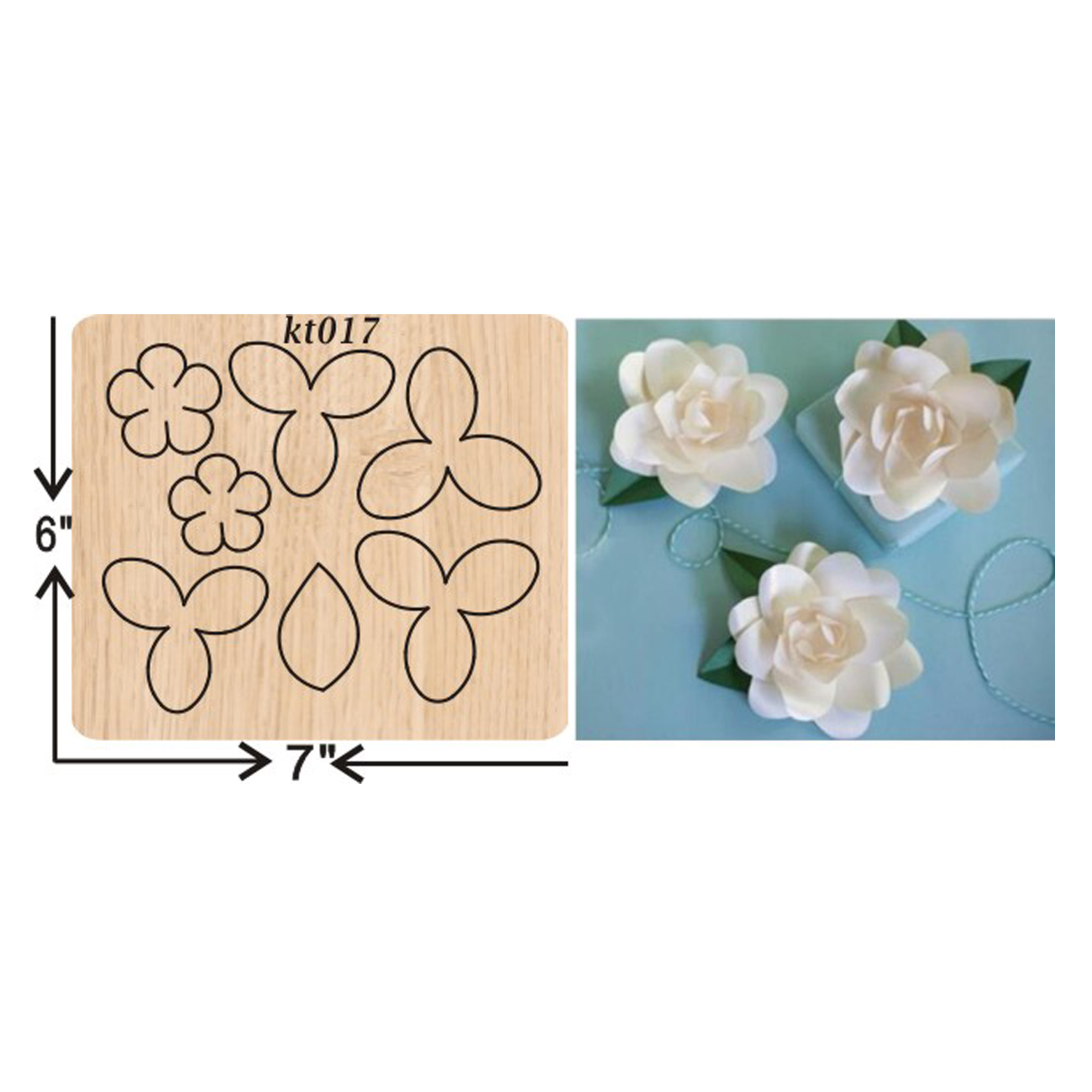 Handmade white lotus cutting dies 2019 new die cut &wooden Suitable  for common machines on the market