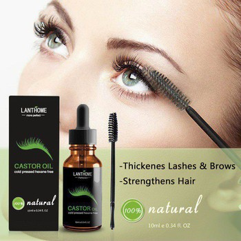 Castor Oil For Eyelashes Lasting Effective Liquid Eyelash Growth Treatment Enhancer Eyelash Serum Growth E1 Eyelash Growth Treatments