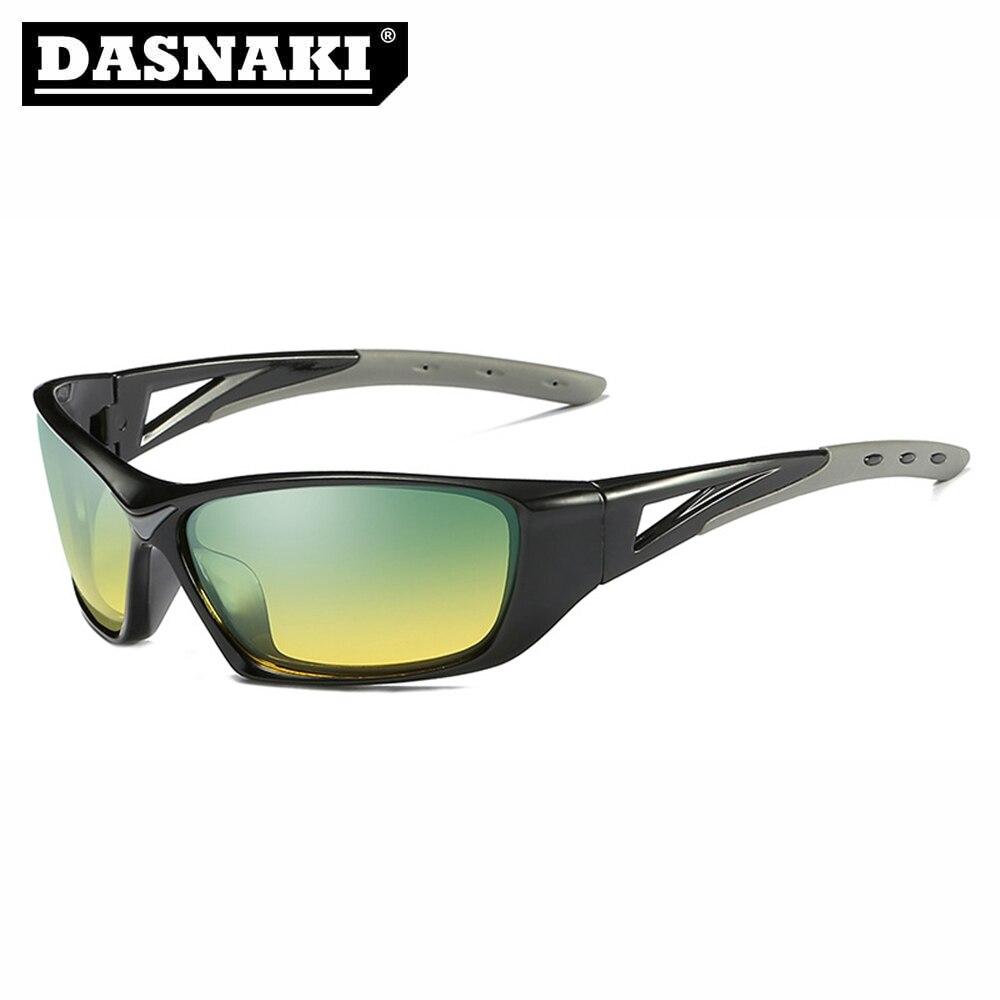 697d14a57af61 Claramente a Visão Óculos de Pesca Fora do Esporte Óculos de Sol dos Homens  Óculos de Sol para Pesca Dasnaki Polarizada Óculos Anti-uv Ciclismo  Caminhadas